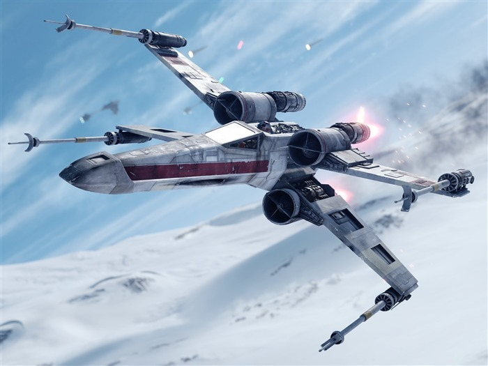 star wars battlefront fighter-Game HD Wallpaper Views:1568