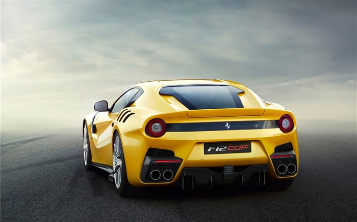 2016 Ferrari F12tdf Yellow HD Wallpaper 01 Views:2197
