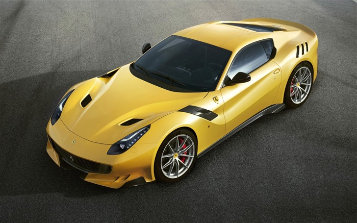 2016 Ferrari F12tdf Yellow HD Wallpaper 03 Views:1891