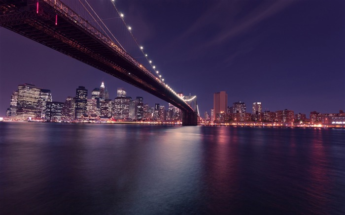 Brooklyn bridge manhattan-Cities HD Wallpaper Views:2138