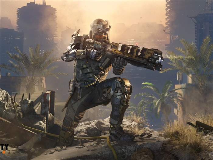 Call of Duty Black Ops 3 Game Wallpaper 10 Views:1851