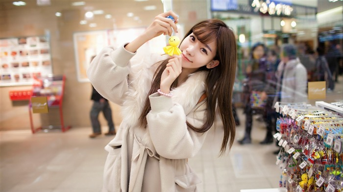Chinese pure aesthetic beauty photo wallpaper Views:12593