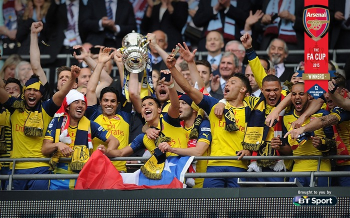 FA Cup Winners 2015-Football Wallpapers Views:1733