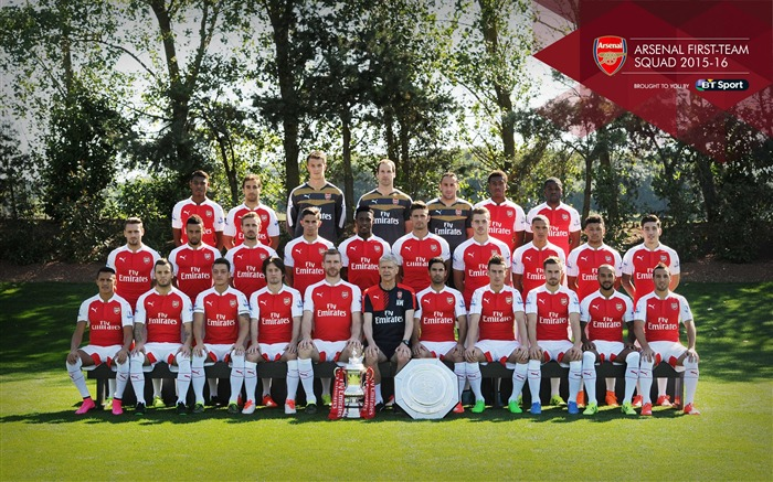 2015-2016 Arsenal Football Club Wallpaper Views:11781
