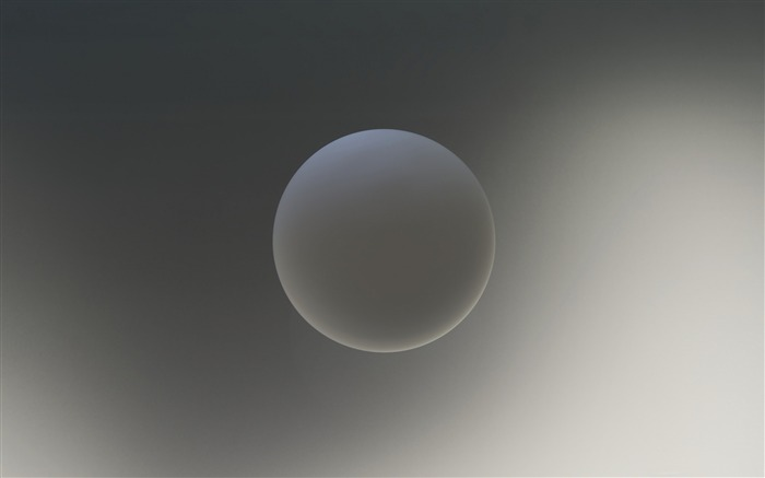 Gray orb-Theme HD Wallpaper Views:2350