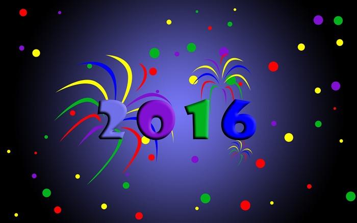 Happy new year 2016 hd fond d 39 cran fond d 39 cran aper u for Fond ecran hd 2016