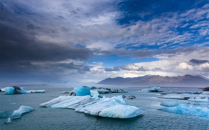 Iceland ice landscape-Nature Photo HD Wallpaper Views:2811