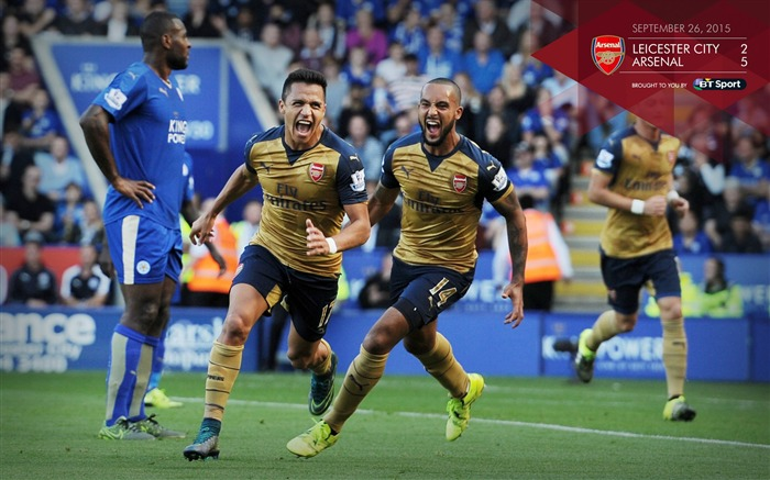 Leicester City 2-5 Arsenal-Football Wallpaper Views:2400