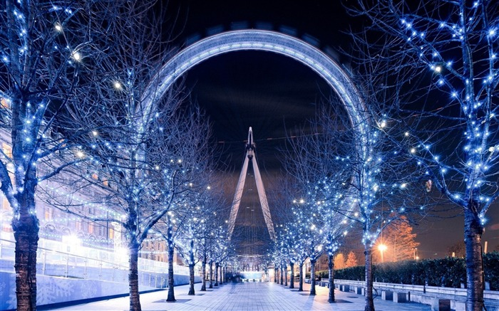 London eye ferris wheel-Cities HD Wallpaper Views:1944
