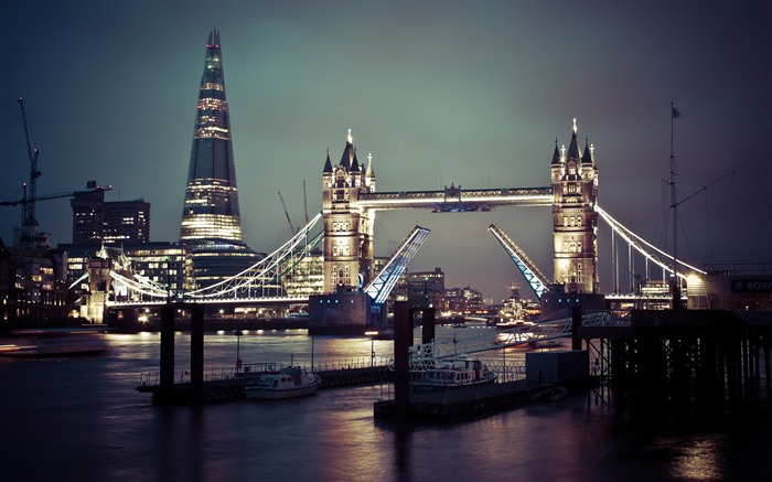 London tower bridge thames-Cities HD Wallpaper Views:2351