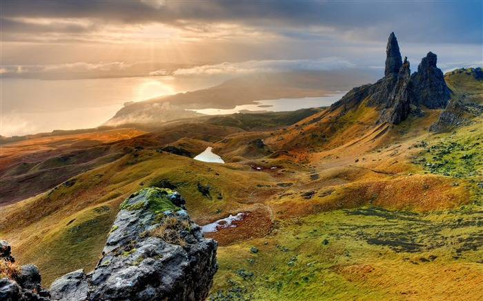 Storr hill panorama scotland-Nature Photo HD Wallpaper Views:3313