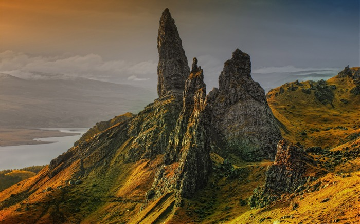 Storr hill scotland-Nature Photo HD Wallpaper Views:1783