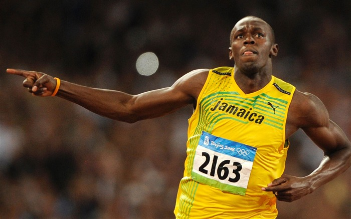 Usain Bolt Jamaica Sprint Sports HD Wallpaper Views:13573