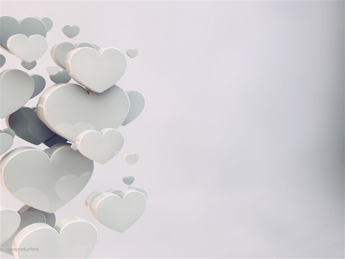 Wedding hearts-Theme HD Wallpaper Views:1353