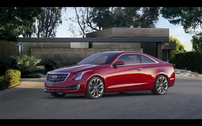 2015 Cadillac ATS Coupe HD Wallpaper 07 Views:2840 Date:12/7/2015 9:00:31 AM