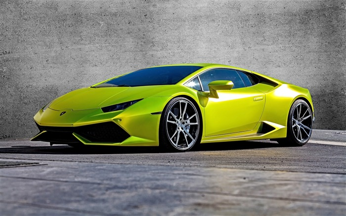 2015 Lamborghini Huracan Supercar HD Wallpaper Views:7779