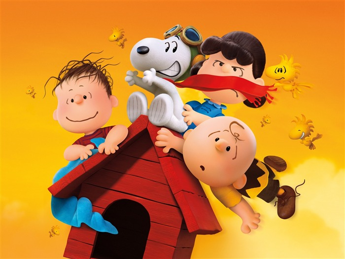 2015 The Peanuts-Movie posters HD Wallpaper Views:3718