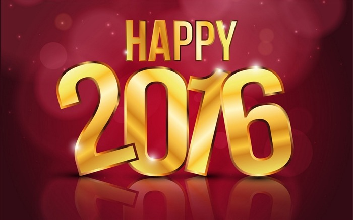 2016 Happy New Year HD Theme Wallpaper Views:10048