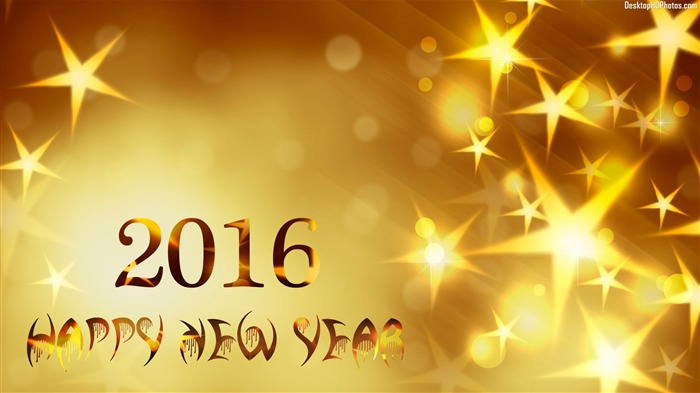 2016 New Year HD Theme Desktop Wallpaper 11 Views:2759 Date:12/28/2015 5:42:34 AM
