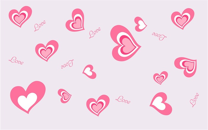 Heart and love pattern-High Quality HD Wallpaper Views:1675
