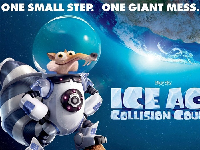 Ice Age Collision Course-Movie posters HD Wallpaper Views:2662