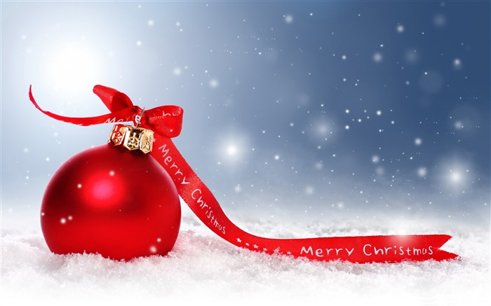 Red christmas decoration-2016 Merry Christmas Wallpaper Views:3727 Date:12/9/2015 7:39:04 AM
