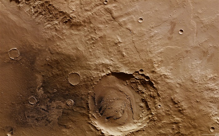 Schiaparelli crater-Universe Space HD Wallpaper Views:1887