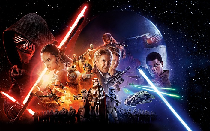 Star Wars The Force Awakens 2015 HD Wallpaper Views:8947