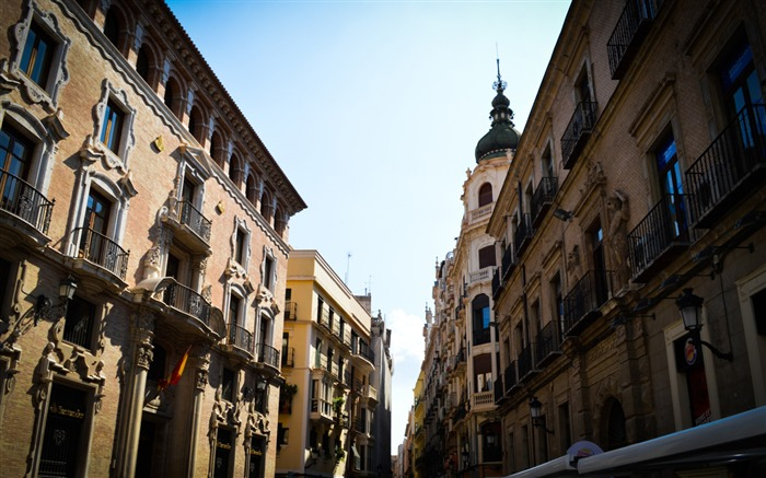 Street in murcia-High Quality HD Wallpaper Views:1543
