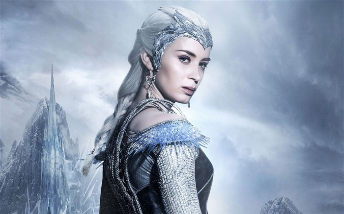 The Huntsman Winters War Ice Queen-Movie poster HD Wallpaper Views:5404 Date:12/1/2015 12:18:30 AM