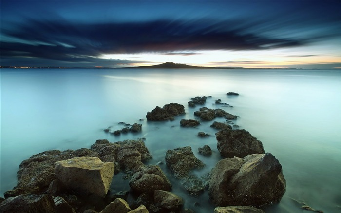 Water long exposure-High Quality HD Wallpaper Views:952