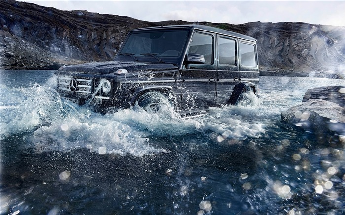 2016 Mercedes-Benz G-Class Auto HD Wallpaper 03 Views:6218 Date:1/26/2016 8:13:46 PM