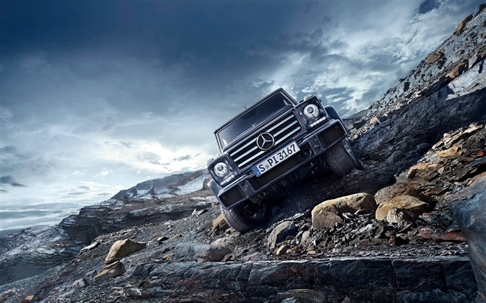 2016 Mercedes-Benz G-Class Auto HD Wallpaper 05 Views:5625 Date:1/26/2016 8:14:41 PM