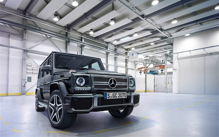 2016 Mercedes-Benz G-Class Auto HD Wallpaper 06 Views:4498 Date:1/26/2016 8:15:07 PM