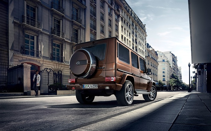 2016 Mercedes-Benz G-Class Auto HD Wallpaper 11 Views:3977 Date:1/26/2016 8:17:02 PM