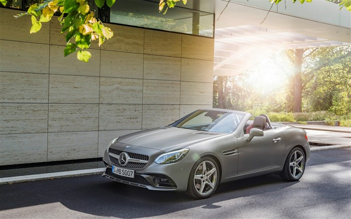 2016 Mercedes-Benz SLC Auto HD Wallpaper Views:4042
