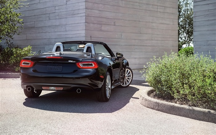 2017 Fiat 124 Spider Luxury Auto HD Wallpaper 09 Views:1966