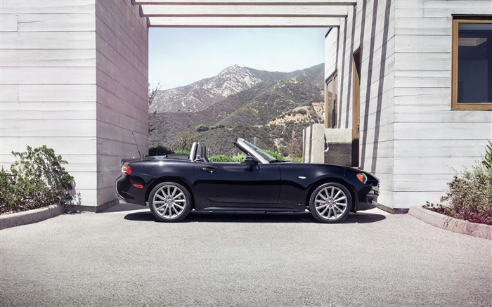 2017 Fiat 124 Spider Luxury Auto HD Wallpaper 12 Views:2237