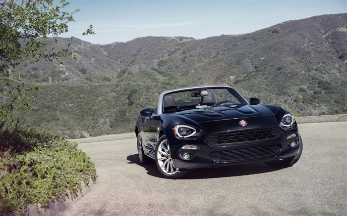 2017 Fiat 124 Spider Luxury Auto HD Wallpaper 13 Views:2146