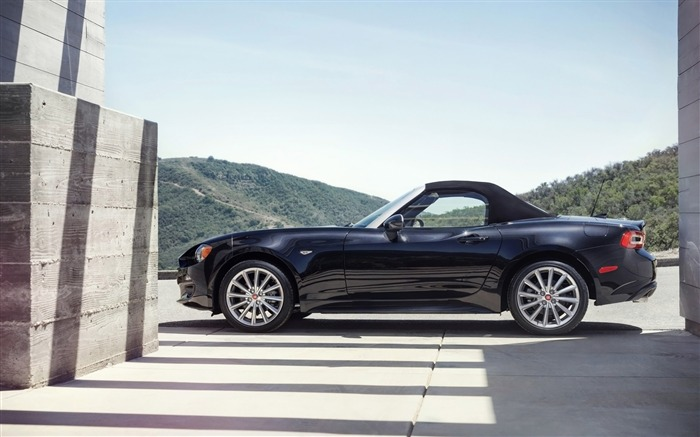 2017 Fiat 124 Spider Luxury Auto HD Wallpaper 14 Views:2114