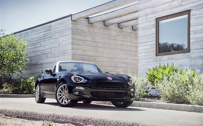 2017 Fiat 124 Spider Luxury Auto HD Wallpaper 16 Views:1306
