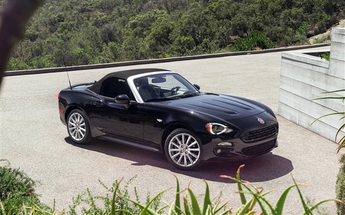 2017 Fiat 124 Spider Luxury Auto HD Wallpaper 17 Views:1265
