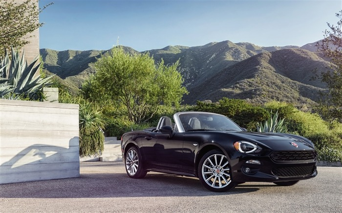 2017 Fiat 124 Spider Luxury Auto HD Wallpaper 18 Views:1319