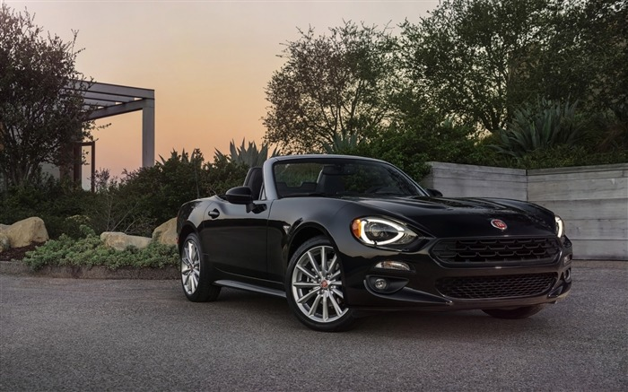 2017 Fiat 124 Spider Luxury Auto HD Wallpaper 21 Views:1275