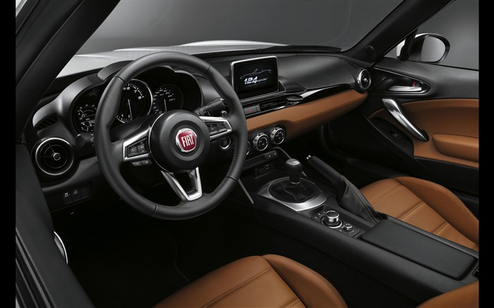2017 Fiat 124 Spider Luxury Auto HD Wallpaper 22 Views:1255
