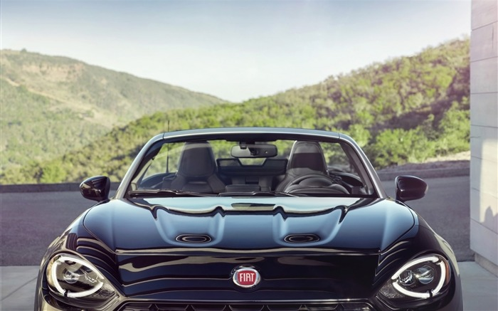 2017 Fiat 124 Spider Luxury Auto HD Wallpaper 32 Views:1159