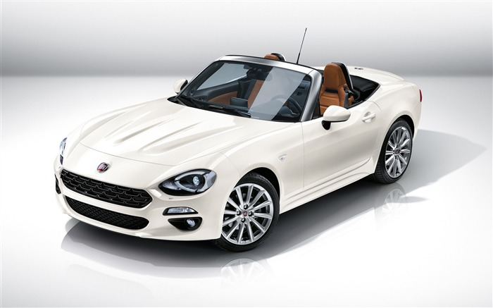 2017 Fiat 124 Spider Luxury Auto HD Wallpaper Views:9423