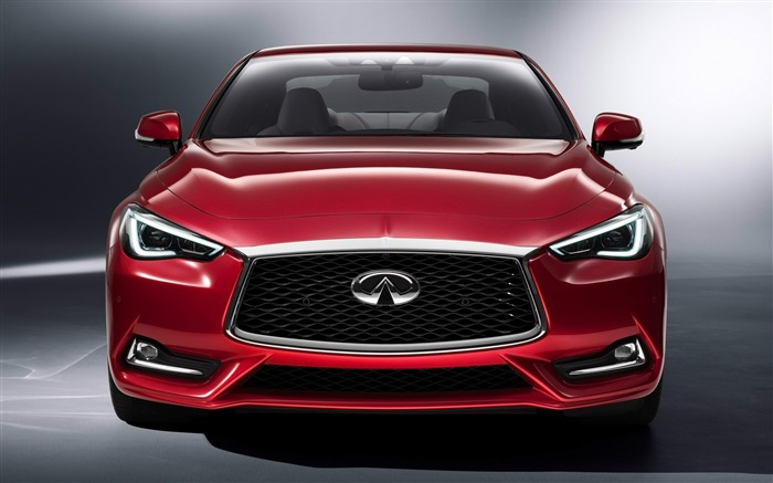2017 Red Infiniti Q60 Series Auto HD Wallpaper 02 Views:1683