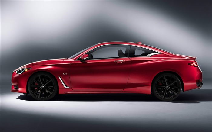 2017 Red Infiniti Q60 Series Auto HD Wallpaper 03 Views:1800
