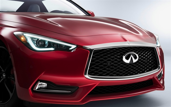 2017 Red Infiniti Q60 Series Auto HD Wallpaper 04 Views:1582